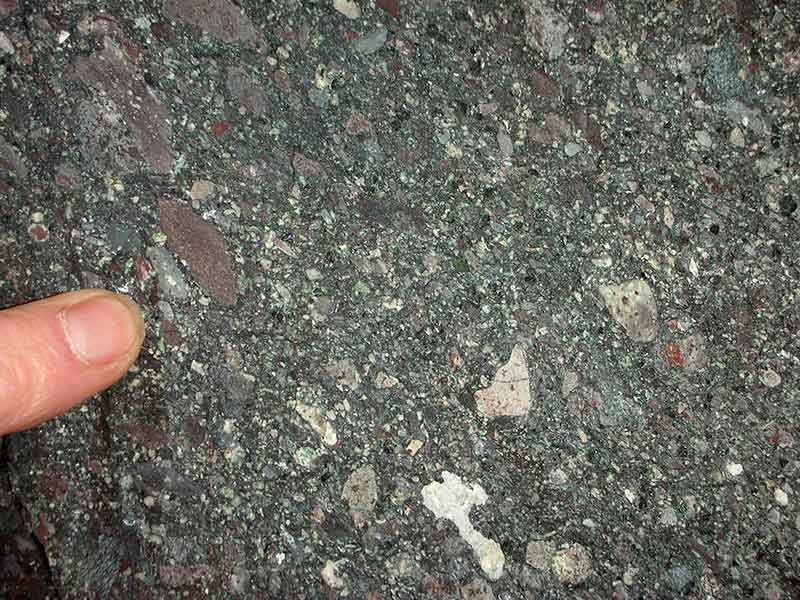 Volcaniclastic sediment
