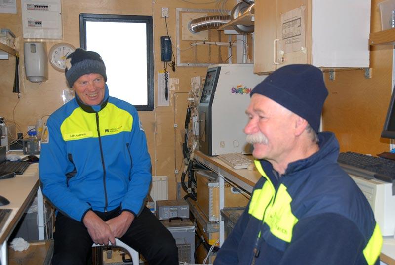 Leif Anderson och Frank Zemlyak