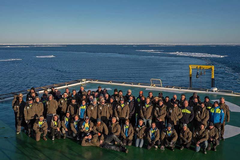 Deltagarna i den andra etappen av SWERUS-C3