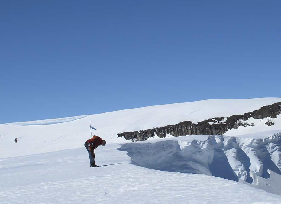 Säkerheten går alltid först på expedition. Foto: Henrik Törnberg