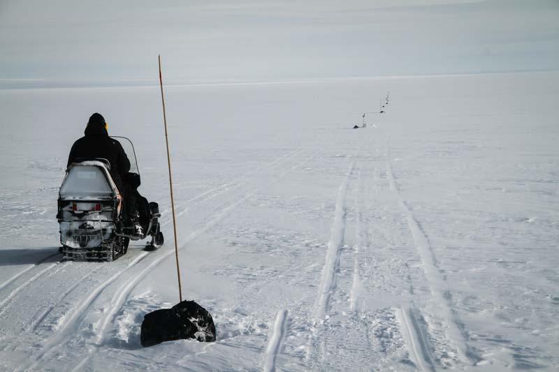 Ola E. clears the Ski-way