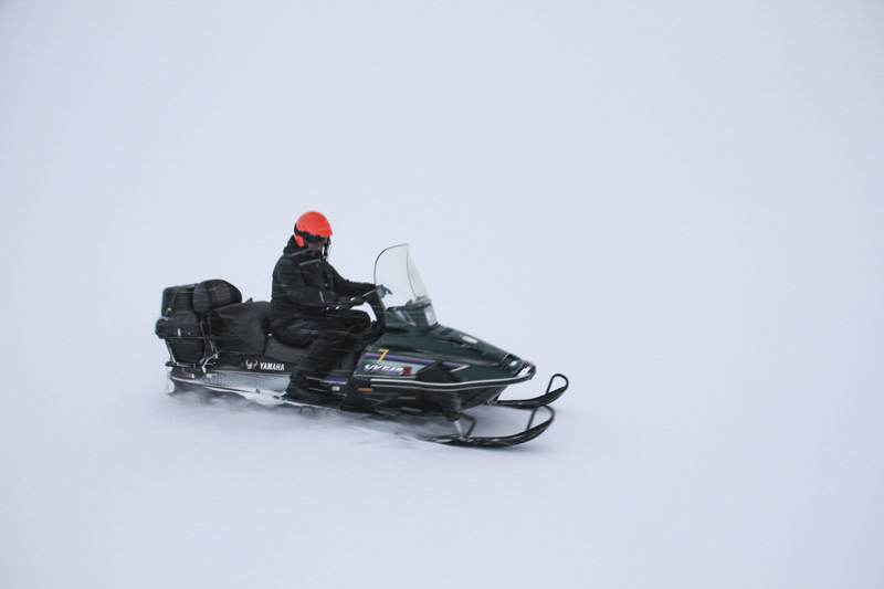 snowmobile from Kibergdalen to Wasa, Antarctica