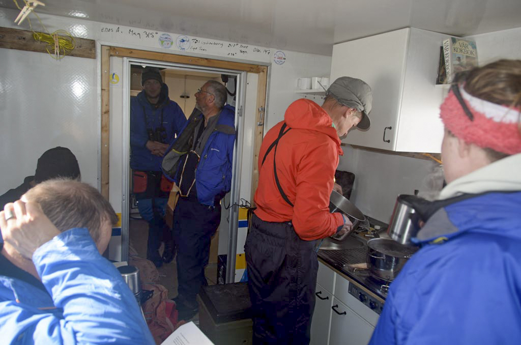 Coffee and lunch in Svea. Photo: Nat Lifton
