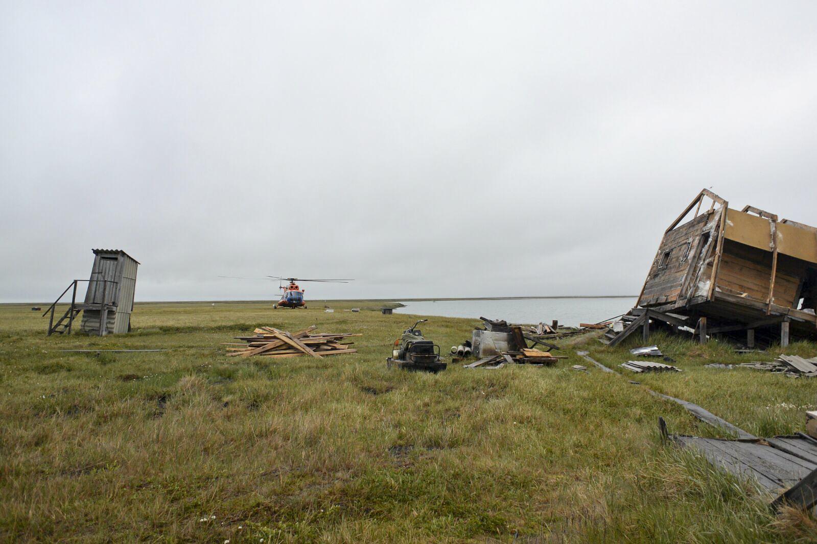 Helikopter på tundran