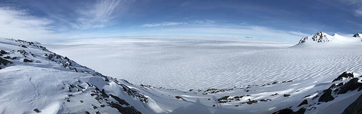 Isström sedd från marken