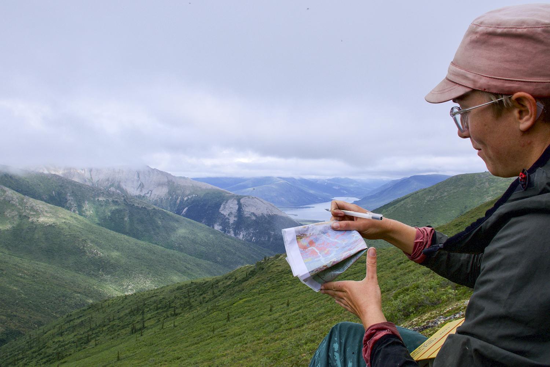 Jämför den geologiska kartan med de faktiska bergarter