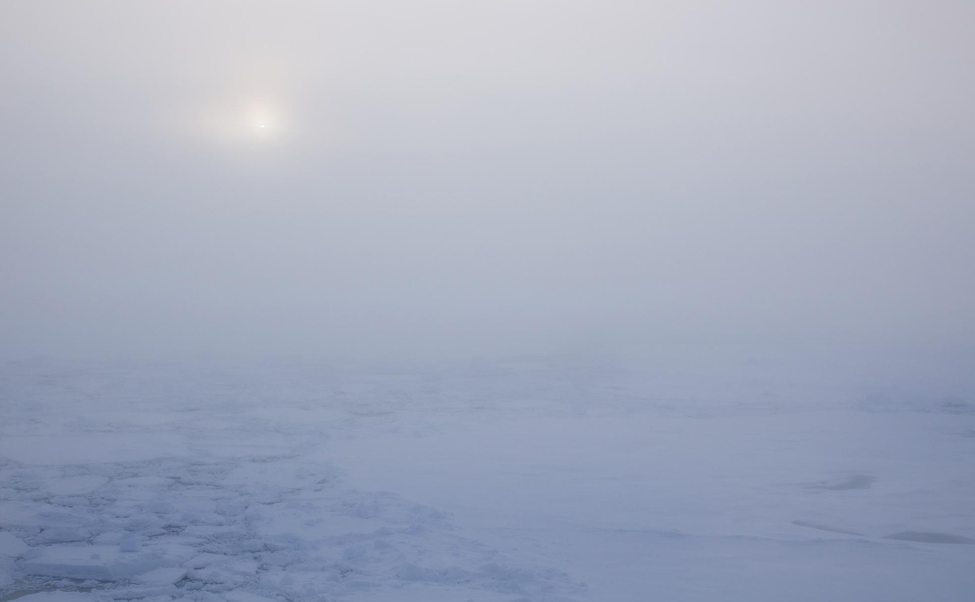 Arktisk dimma 6 september 2018. Foto: Patrick Duplessis